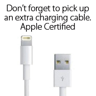 The Device Shop sells MFI Apple Certified Lightning Connectors