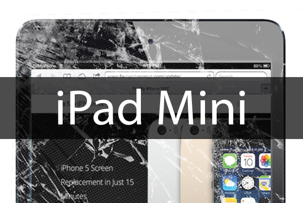 iPad Mini Screen Repair - Mail In Sevice - The Device Shop