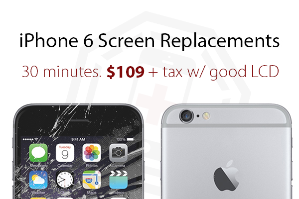 iPhone 6 Screen Replacements by The Device Shop