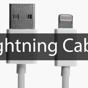 Apple Ceritfied Lightning Cable for iPhone 5 and above, iPad 4 and above
